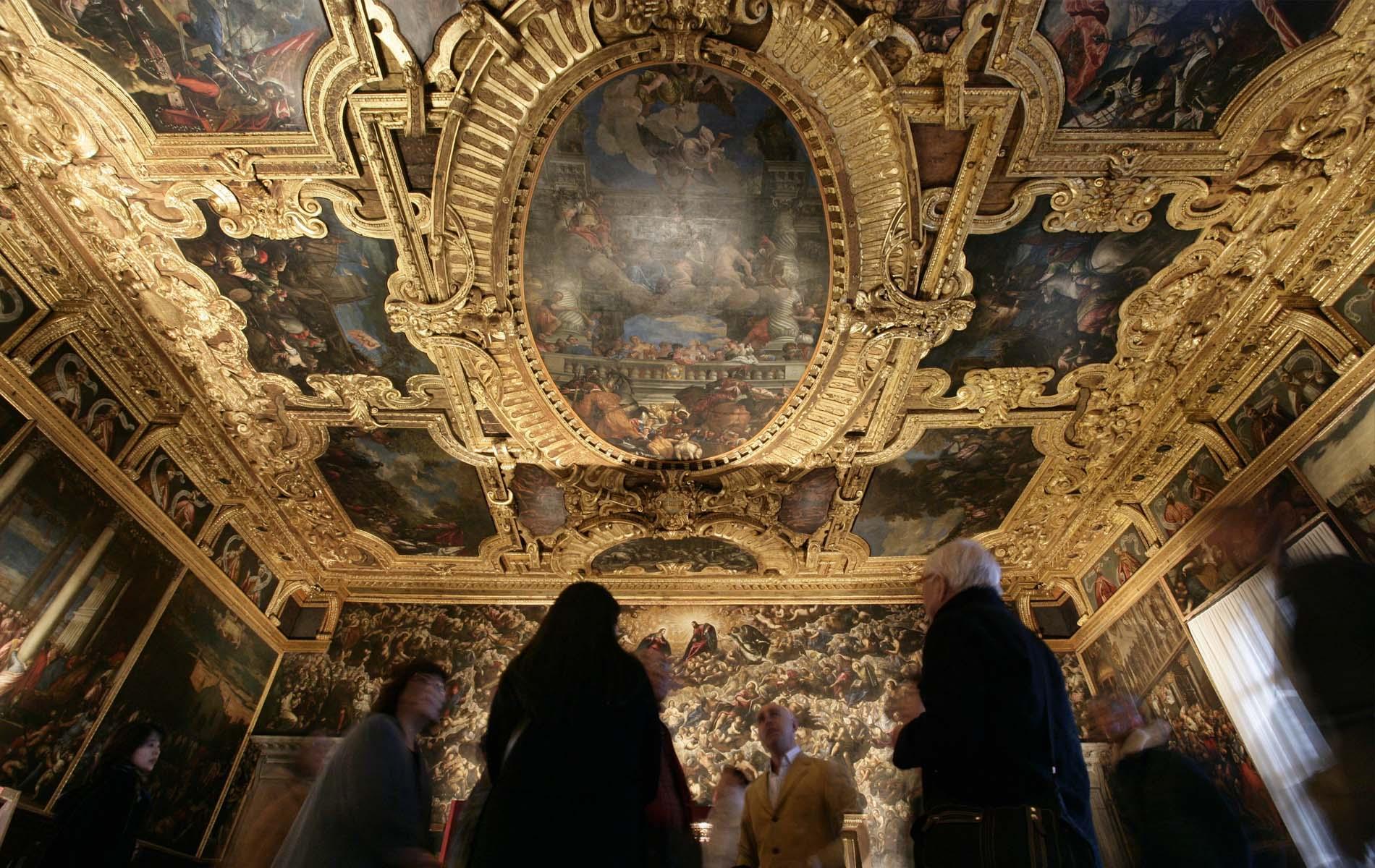 tintoretto,venecia,venice.barroco,baroque,Scuola Grande di San Rocco