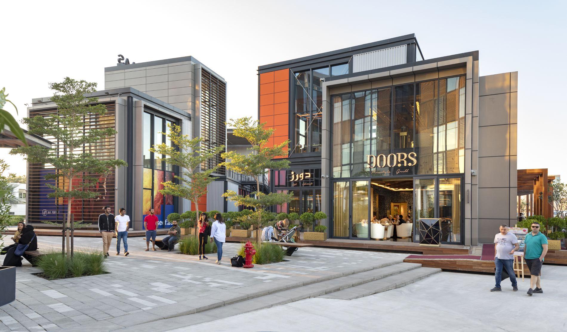 New Retail Area of Al Seef Dubai,architecturephotography