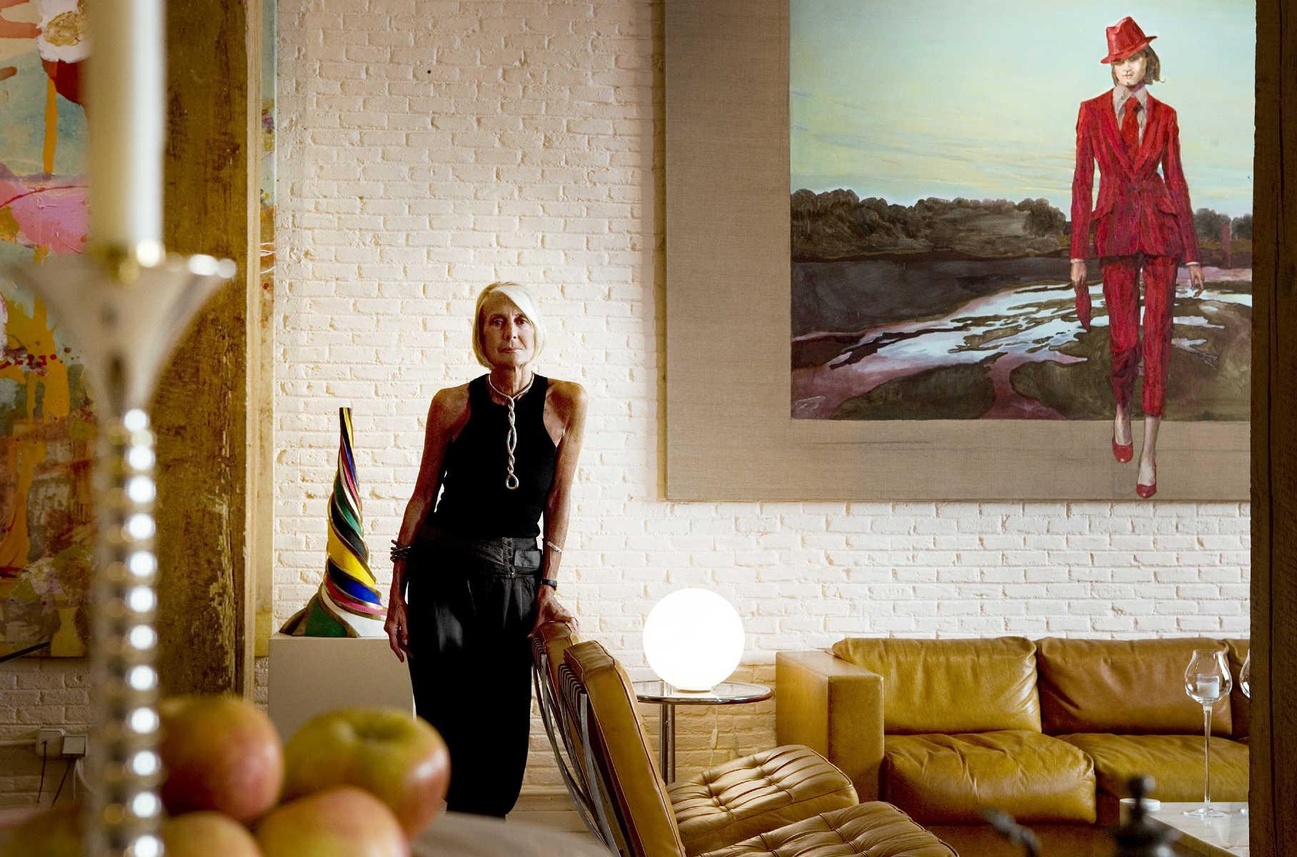 Soledad Lorenzo at home
