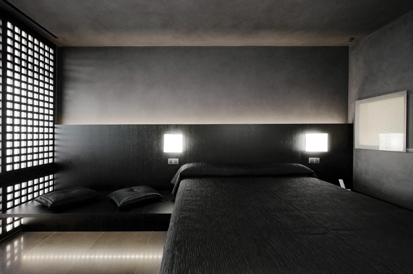 Hotel Puerta América,Arata Isozaki room