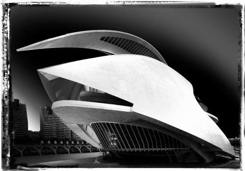 palau de les arts,architecture,valencia,santiago calatrava,ciudad de las artes