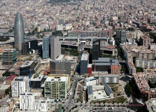 Fundació Vilacasas,Can Framis Museum from the sky