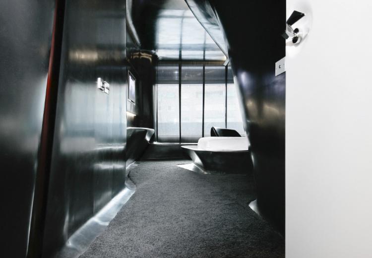 Hotel Puerta América,Zaha Hadid room